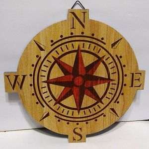 Wooden Directional Sign